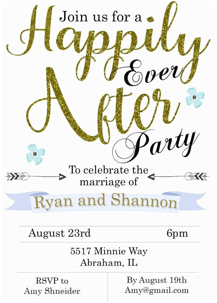 Elopement Party Invitations Elopement Party Invitations Reception Ly Invitations