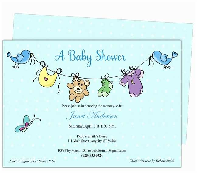 Email Baby Shower Invitations Email Invitations Free Template Resume Builder
