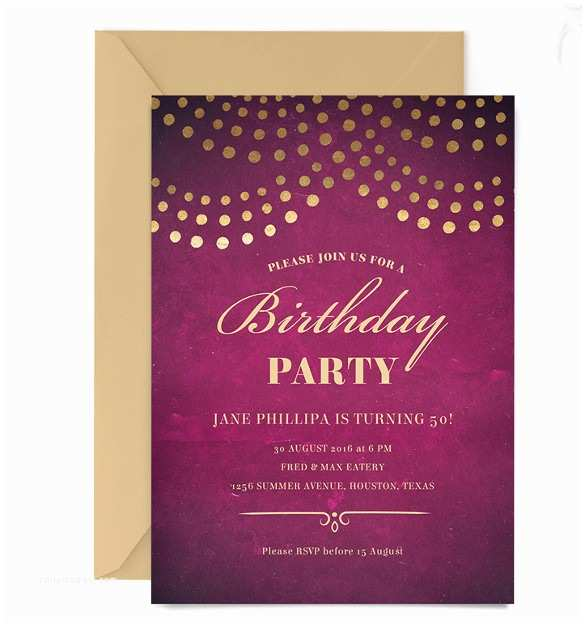 Email Party Invitations Birthday Invitation Template 27 Free Psd Eps