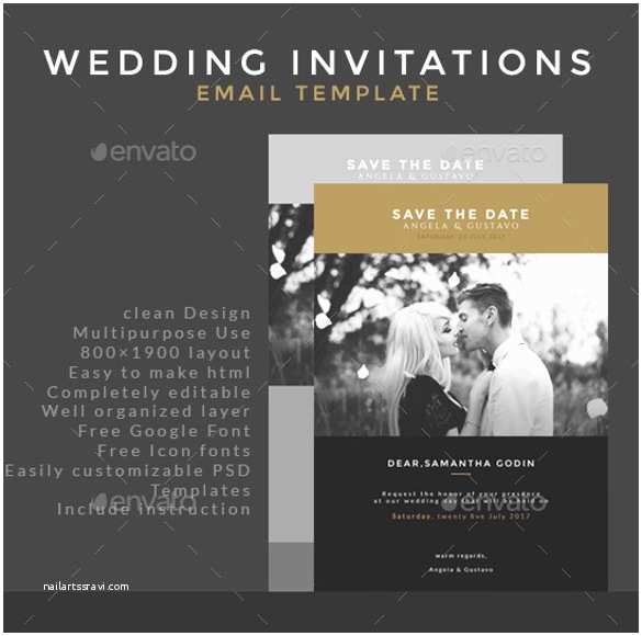 Email Wedding Invitations Free 17 Email Invitation Template Free Sample Example