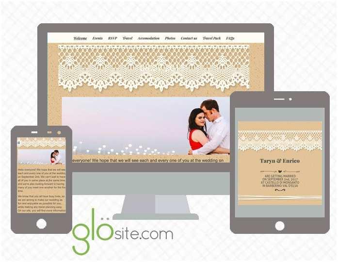 Email Wedding Invitations Free Glo Glosite