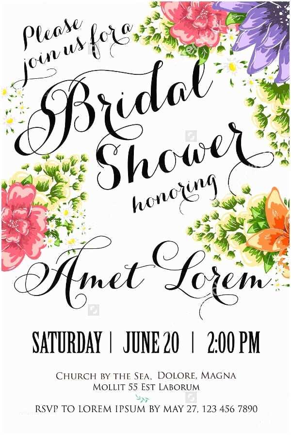 Email Wedding Shower  Sample Wedding