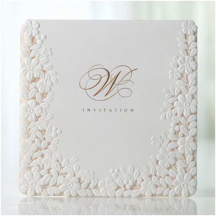 Embossed Wedding Invitations Best 25 Cricut Wedding Invitations Ideas On Pinterest
