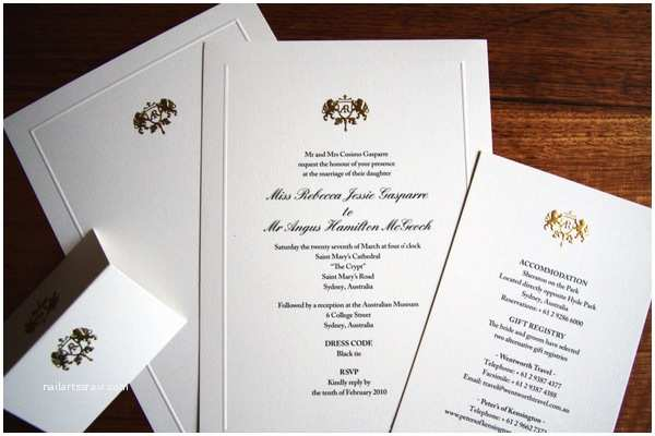 Embossed Wedding Invitations Design Inspiration for Custom Embossed Wedding Invitations