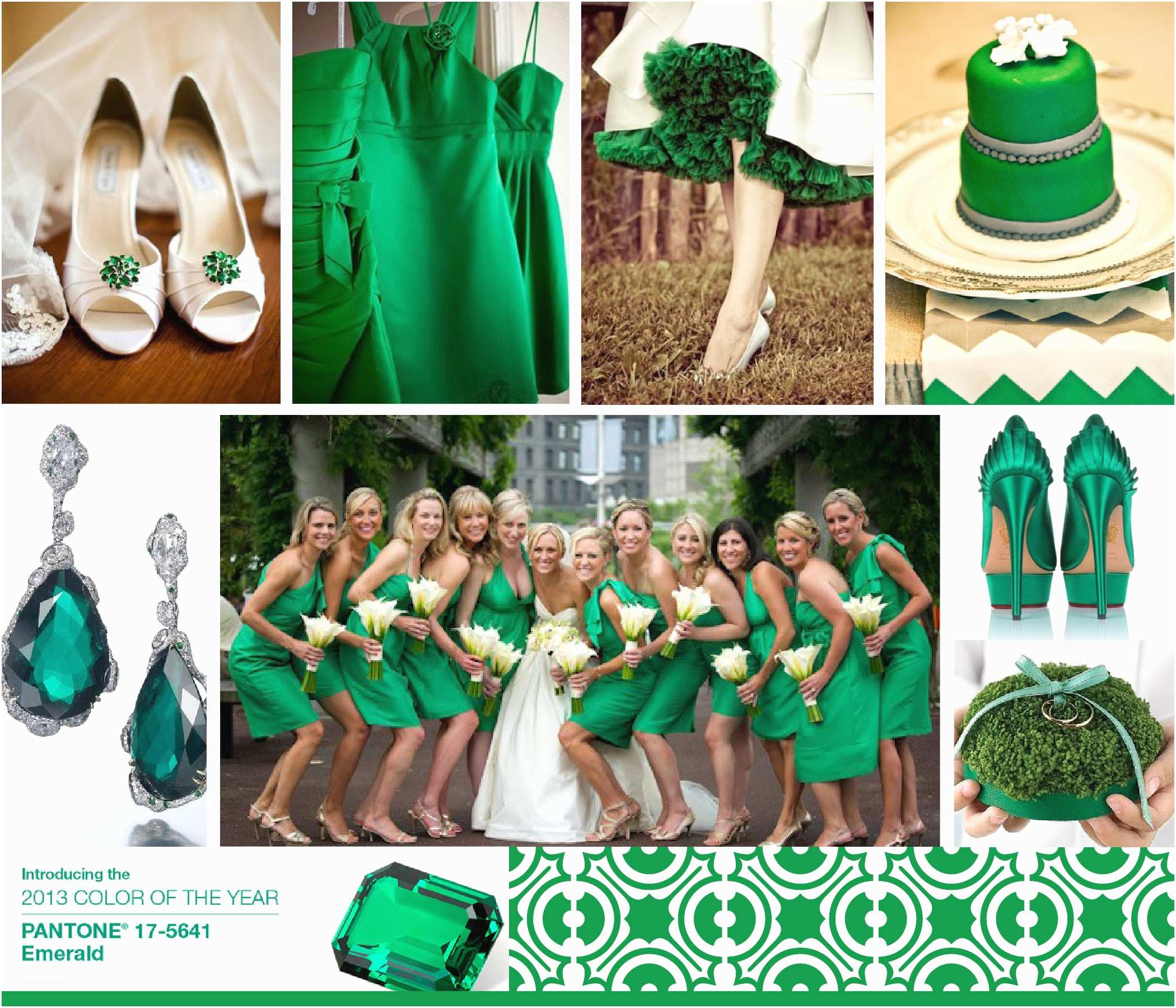 Emerald Green Wedding Invitations 2013 Pantone Color the Year Emerald Green