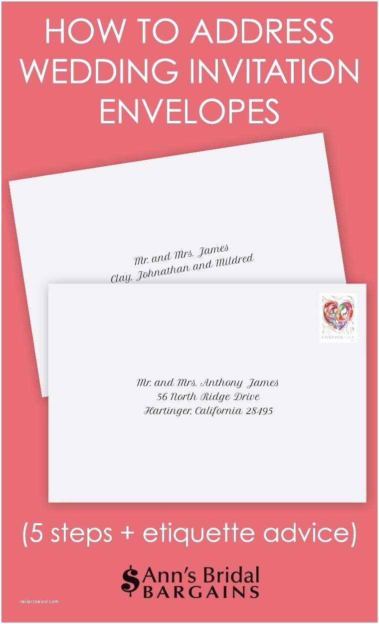 Emily Post Wedding Invitation Wording Addressing Wedding Invitations Etiquette
