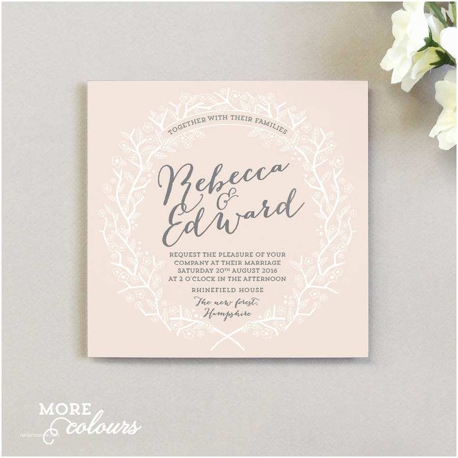 Enchanted Wedding Invitations Enchanted forest Wedding Invitation by Project Pretty