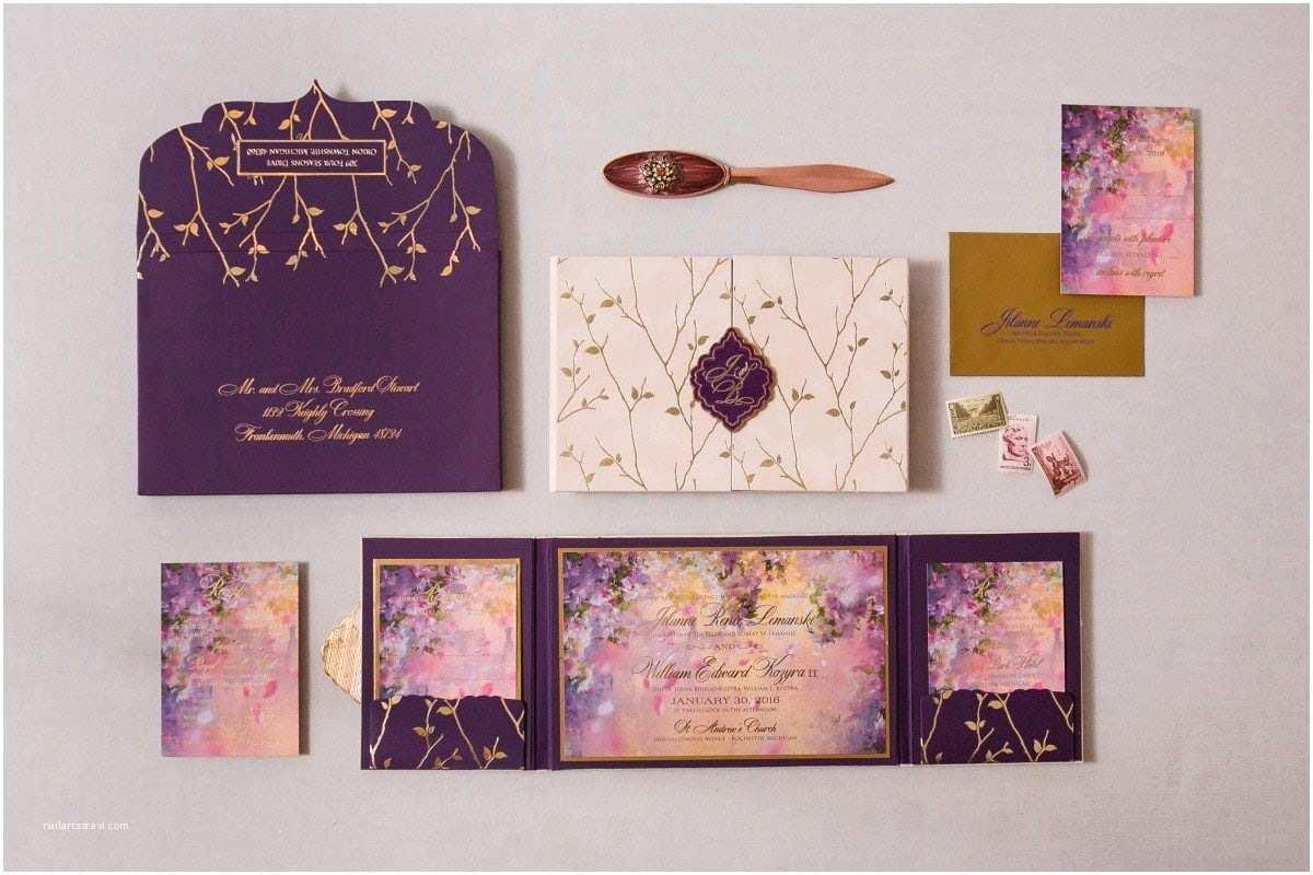 Enchanted Wedding Invitations Enchanted forest Wedding Invitations Gourmet Invitations