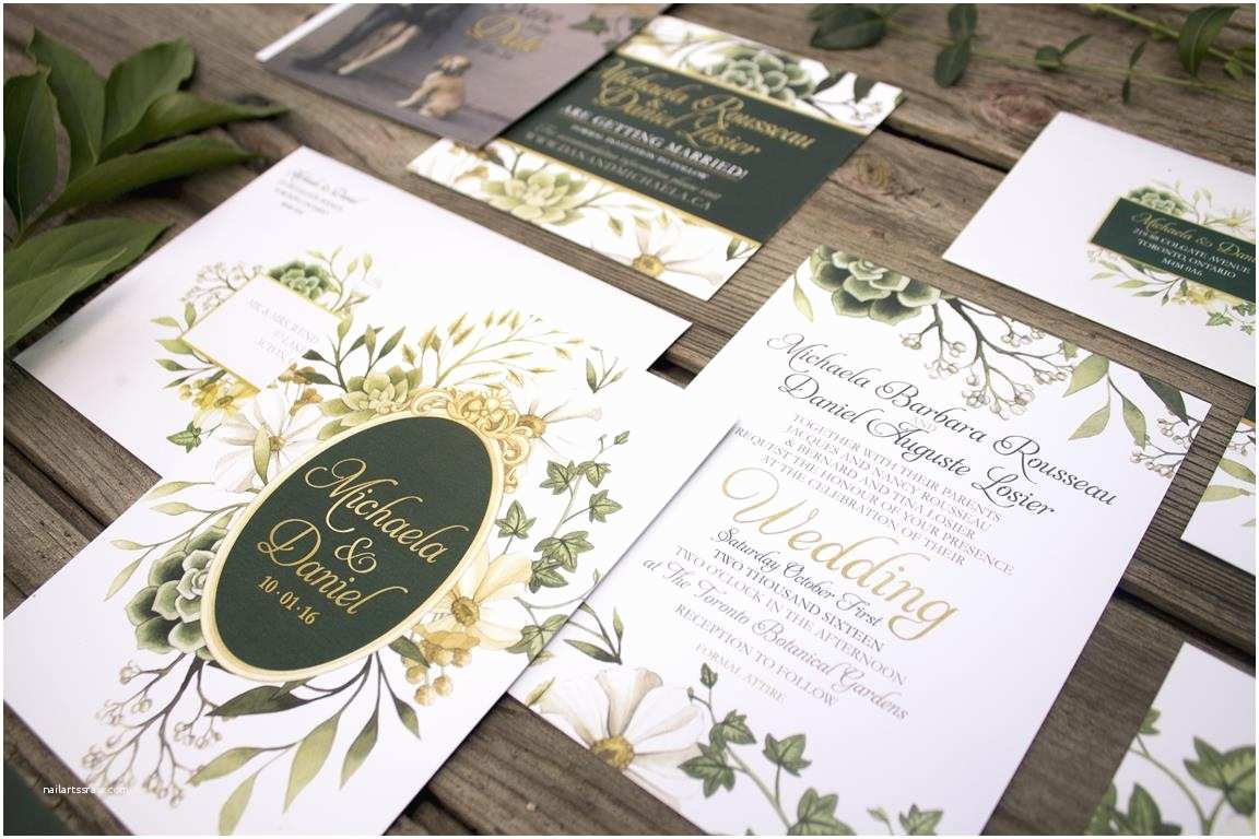 Enchanted Wedding Invitations Enchanted forest Wedding Invitations