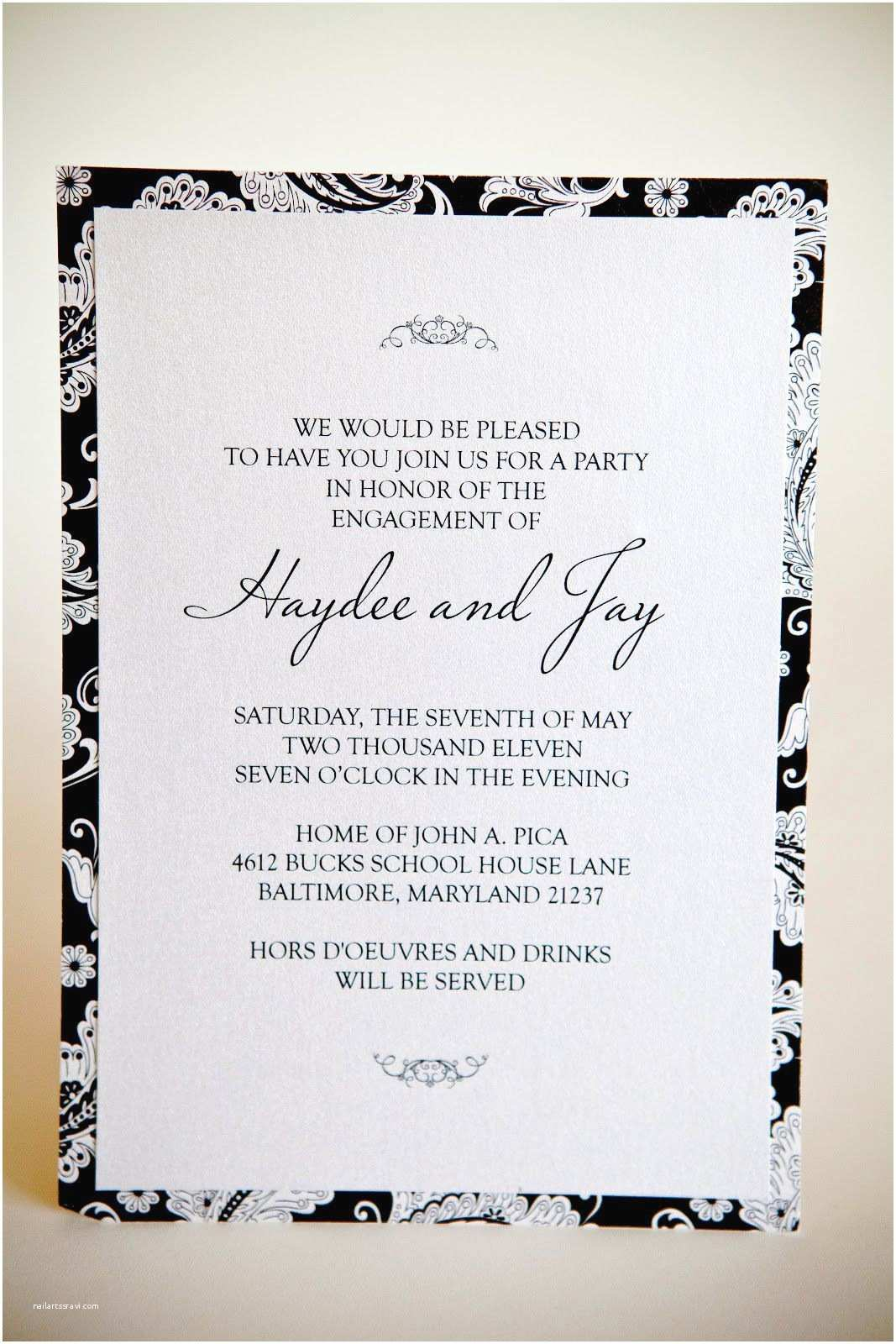 Engagement Party Invitation Wording How to Word Engagement Party Invitations How to Word