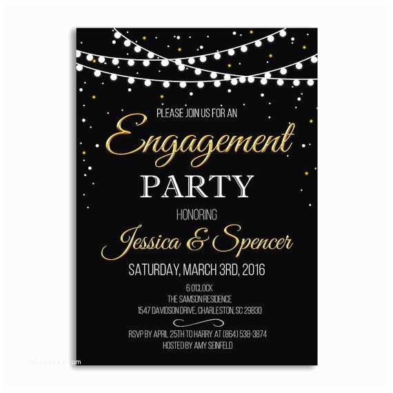 Engagement Party Invitations 1000 Ideas About Engagement Invitation Template On