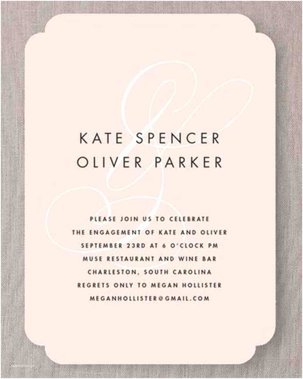 Engagement Party Invitations 15 Engagement Party Invitations