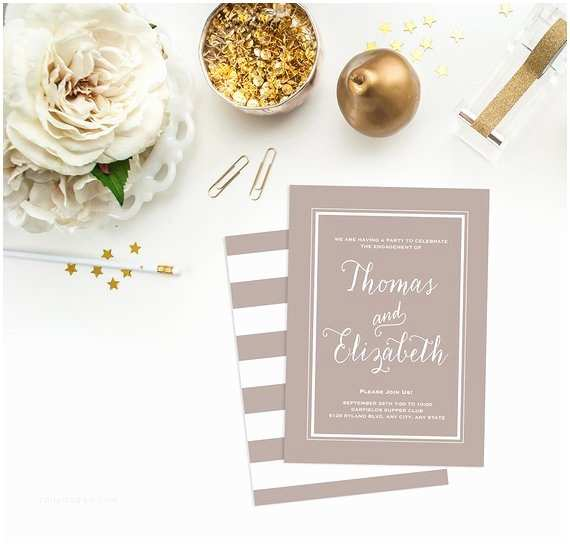 Engagement Party Invitations Etsy Items Similar to Engagement Party Invitation Engagement