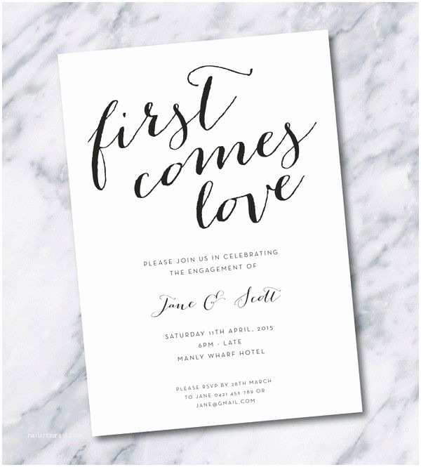 Engagement Party Invitations Templates Best 25 Engagement Party Invitations Ideas On Pinterest