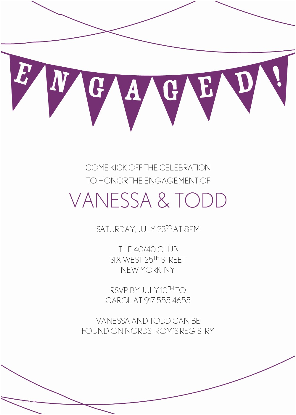 Engagement Party Invitations Templates Cheap Engagement Party Invitations Template