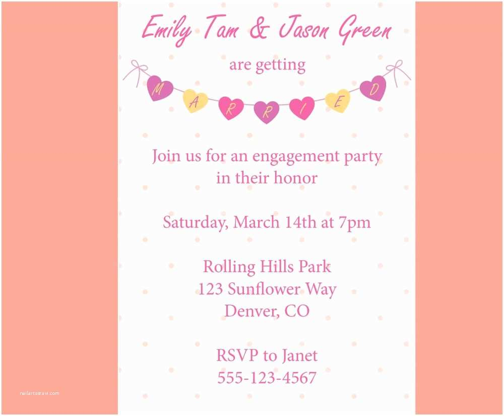Engagement Party Invitations Templates Engagement Party How to Word Engagement Party