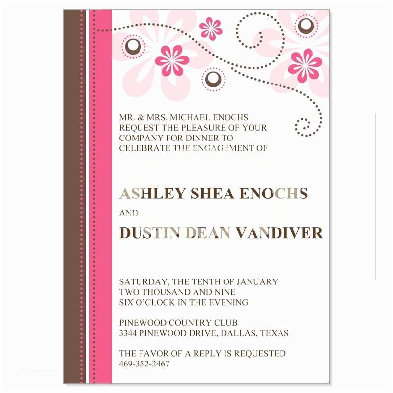 Engagement Party Invitations Templates Engagement Party Invitation Templates