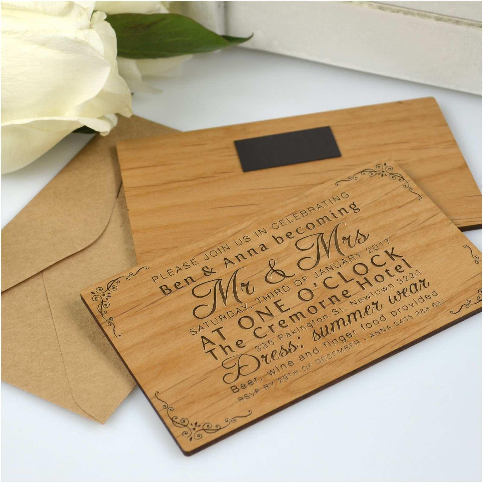 Engraved Wedding  Cost 11b Engraved Horizontal Wooden Wedding