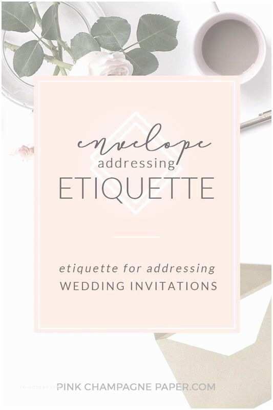Envelope Etiquette For Wedding Invitations Best 25 Envelope Addressing Etiquette Ideas On