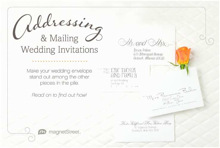 Envelope Etiquette for Wedding Invitations Get the Scoop Addressing Wedding Invitationsget the Scoop