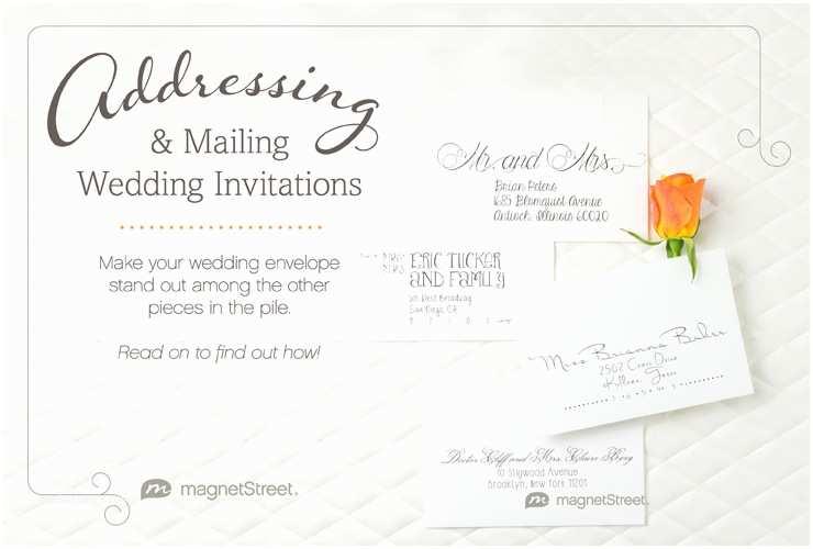 Envelope Etiquette  Wedding Invitations Wedding Invitation Envelope Etiquette Examples Yaseen
