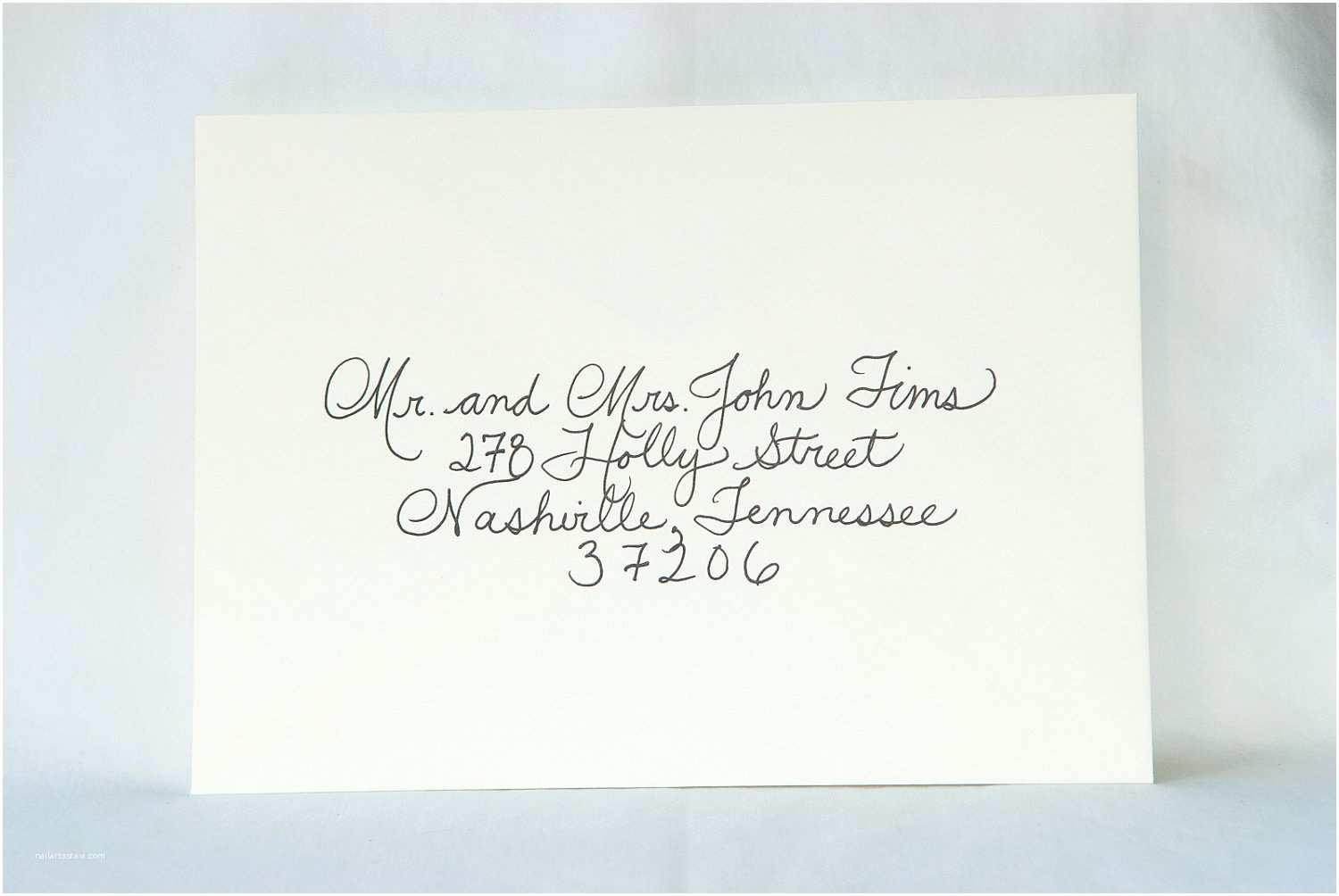 Envelopes for Wedding Invitations Custom Wedding Calligraphy for Invitation Envelope Addressing