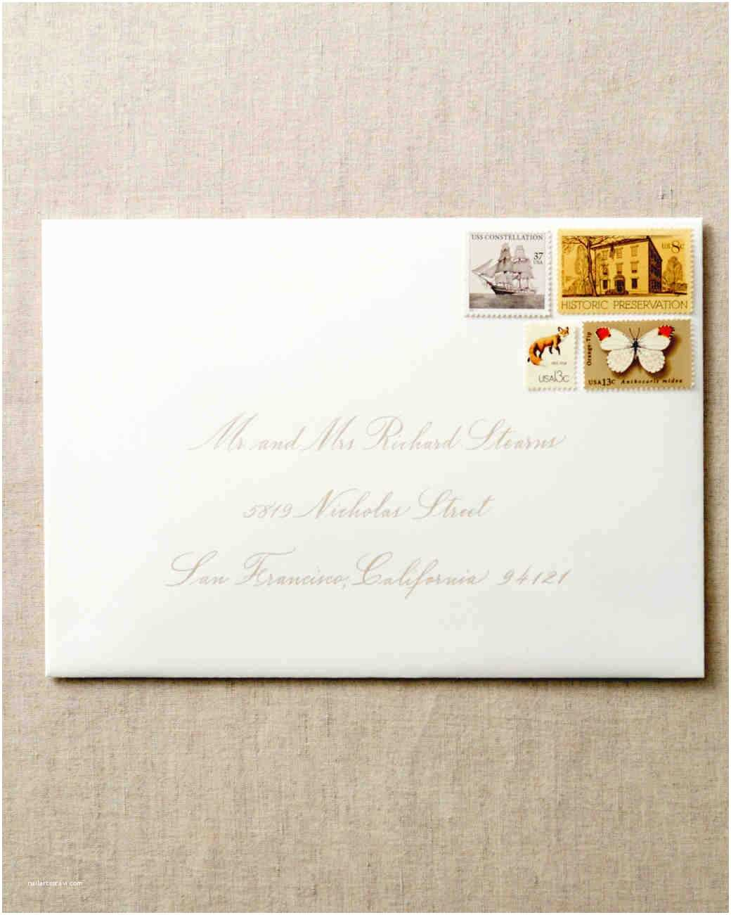 Envelopes for Wedding Invitations How to Address Guests On Wedding Invitation Envelopes