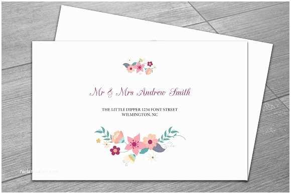 Envelopes for Wedding Invitations Wedding Envelope Template Invitation Templates