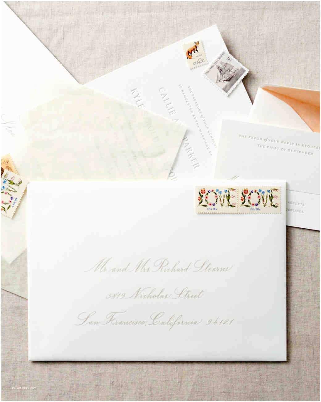 Envelopes for Wedding Invitations Wedding Invitation Envelope Etiquette – Gangcraft