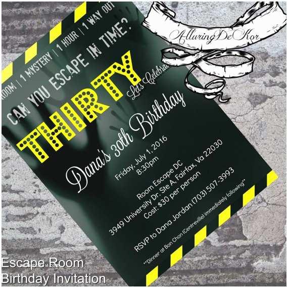 Escape Room Party  Escape Room Birthday