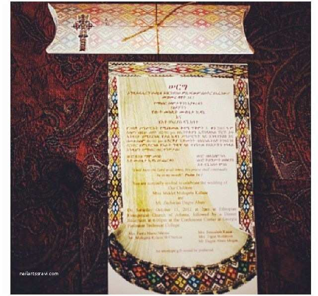 Ethiopian Traditional Wedding Invitation Cards Ethiopian Wedding Invitation Ideas