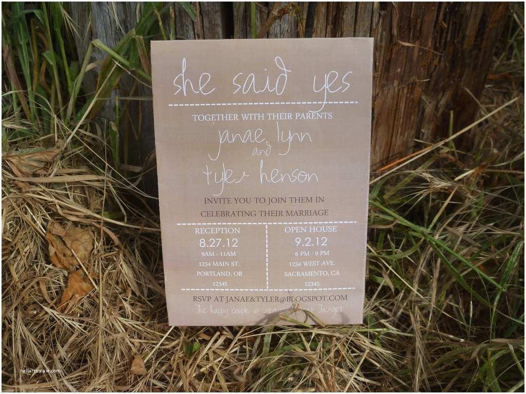 Etsy Diy Wedding Invitations Country Style Wedding Ideas