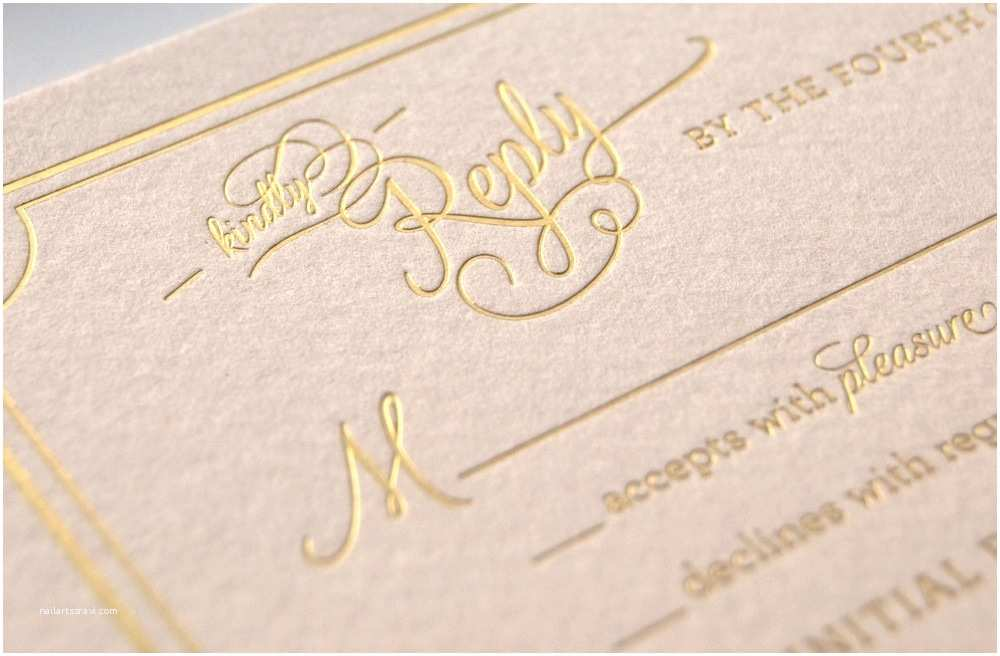Etsy Diy Wedding Invitations Gilded Wedding Invitations Etsy Weddings Stationery soft