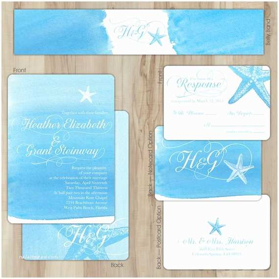 Etsy Diy Wedding Invitations Items Similar to Diy Wedding Invitation Suite Aqua