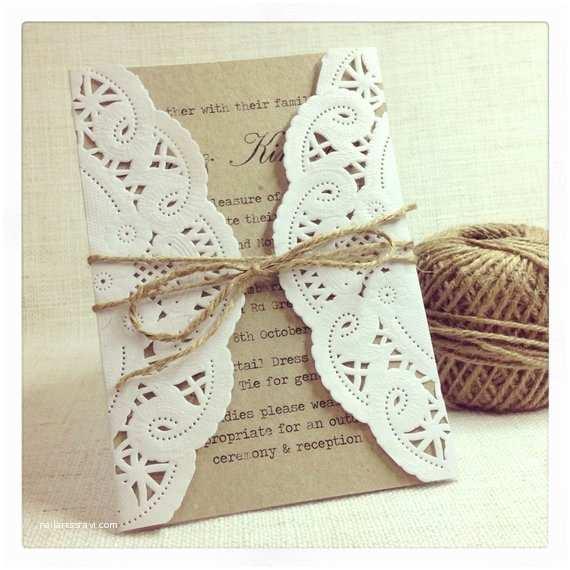 Etsy Diy Wedding Invitations Items Similar to Rustic Wedding Invitation Rustic Chic