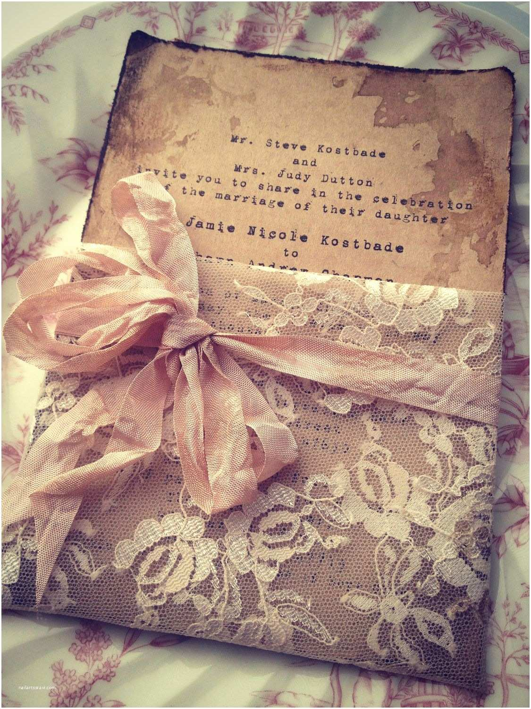 Etsy Diy Wedding Invitations Lace Invitation High End Handmade Wedding Bridal Shower