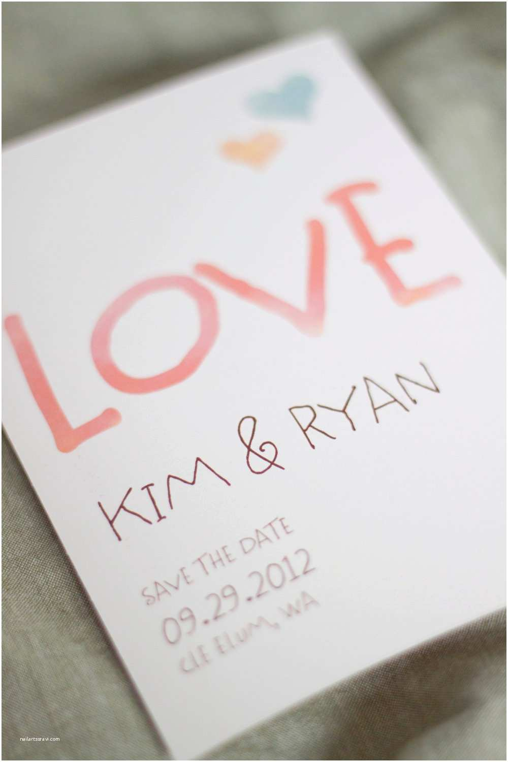 Etsy Diy Wedding Invitations Watercolor Wedding Invitations Handmade Weddings by Etsy