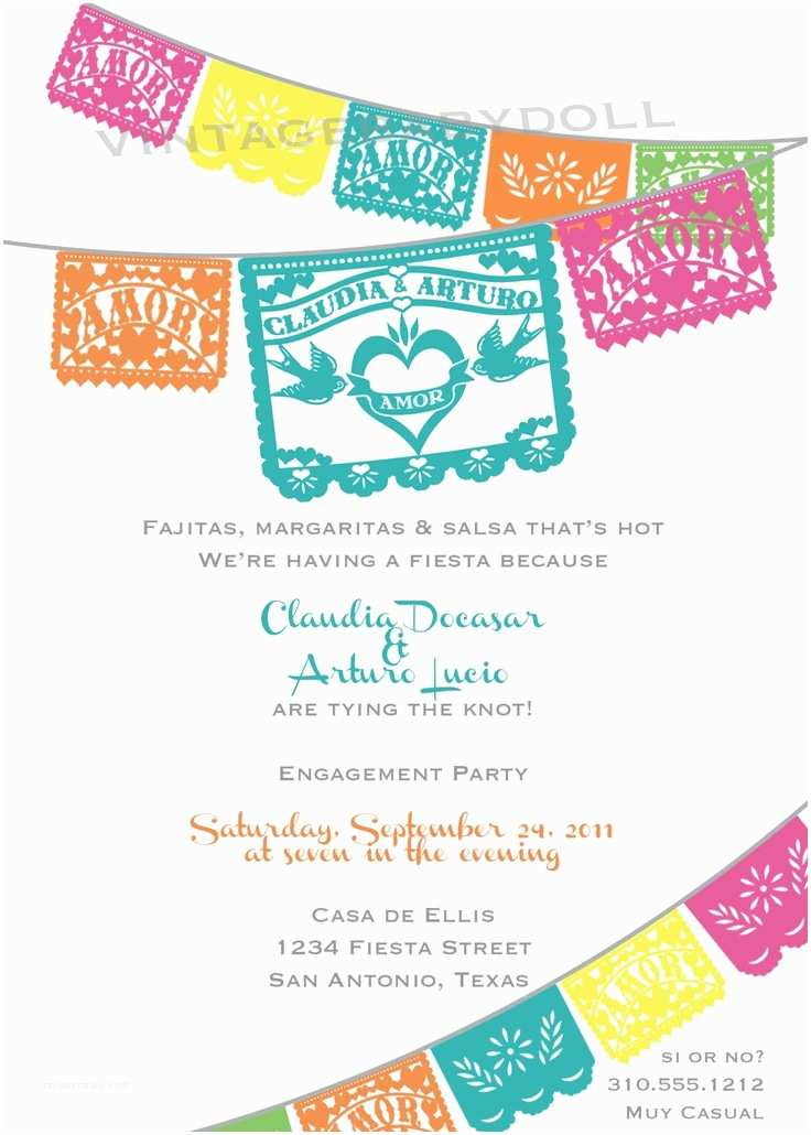 Etsy Papel Picado Wedding Invitations 75 Best Images About Menu Design On Pinterest