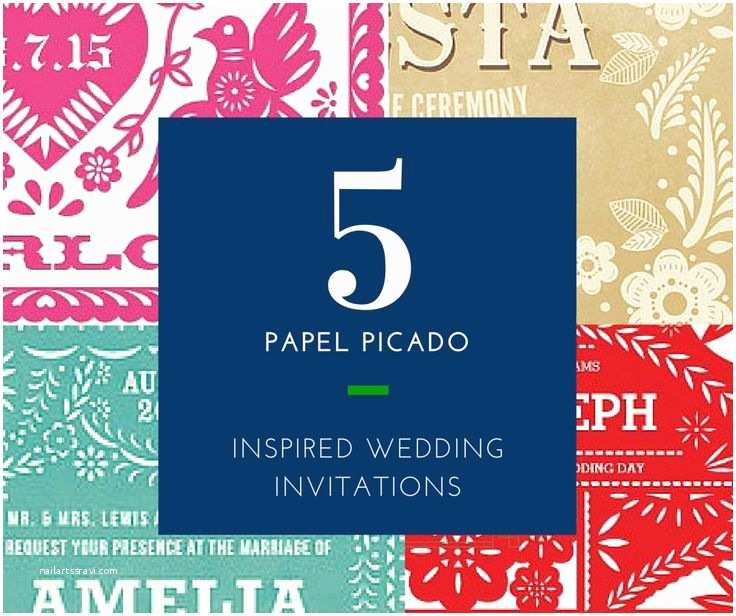 Etsy Papel Picado Wedding Invitations 98 Best Mexican Wedding Ideas Images On Pinterest