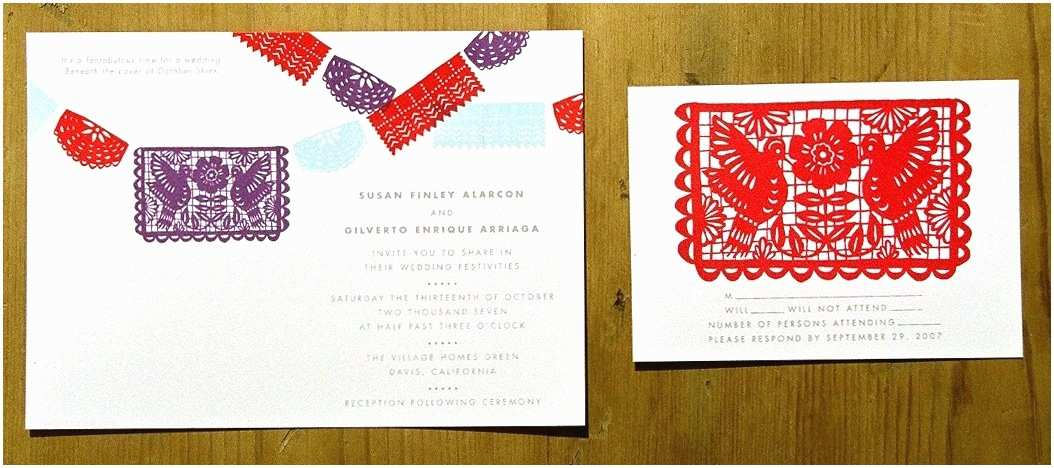 Etsy Papel Picado Wedding Invitations Papel Picado Wedding Invitations Template No2powerblasts