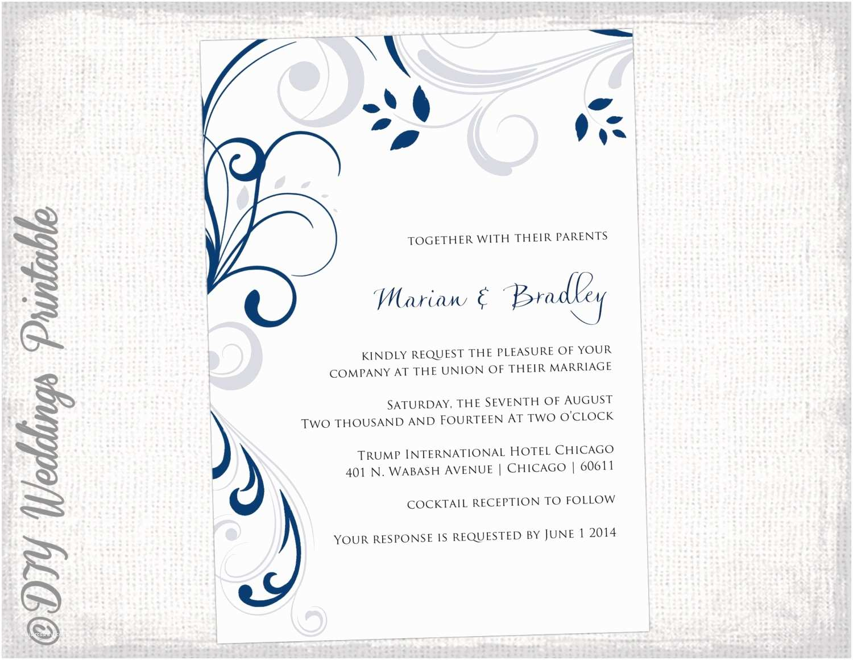 Etsy Printable Wedding Invitations Etsy Wedding Invitation Template Lovely Best Day Ever