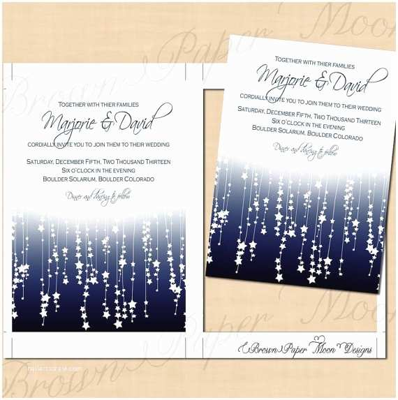 Etsy Printable Wedding Invitations Printable Wedding Invitations by Brownpapermoon On Etsy