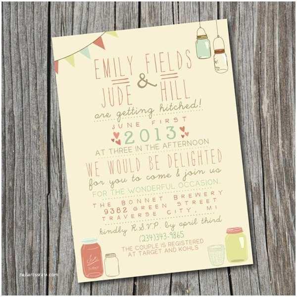 Etsy Printable Wedding Invitations Wedding Invitations Etsy for the Invitations Design
