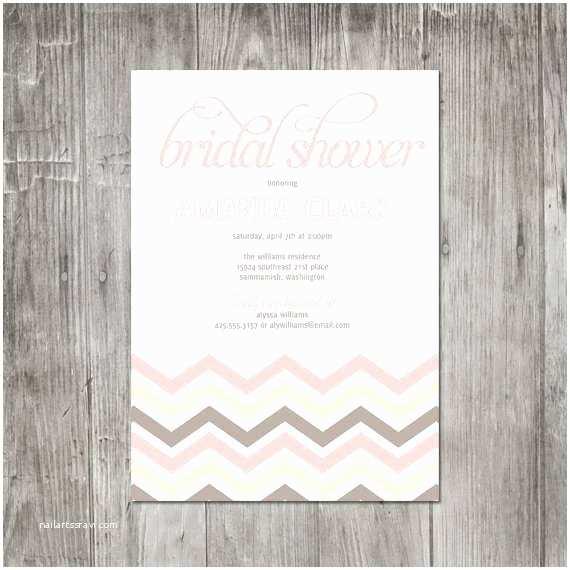 Etsy Wedding Invitations Etsy Shabby Chic Bridal Shower Invitations