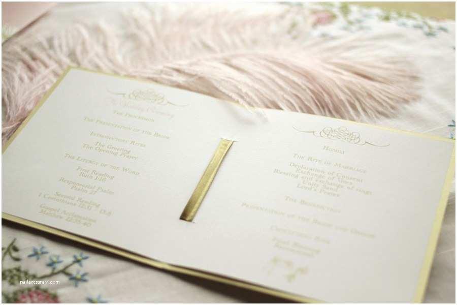 Etsy Wedding Invitations Gilded Wedding Invitations Etsy Weddings Stationery