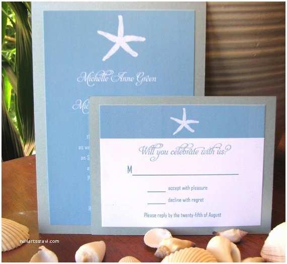 Etsy Wedding Invitations Items Similar to Beach themed Wedding Invitations On Etsy