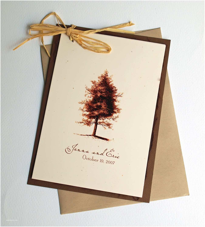 Etsy Wedding Invitations Rustic Wedding Invitation Vintage Tree by Ericksondesign