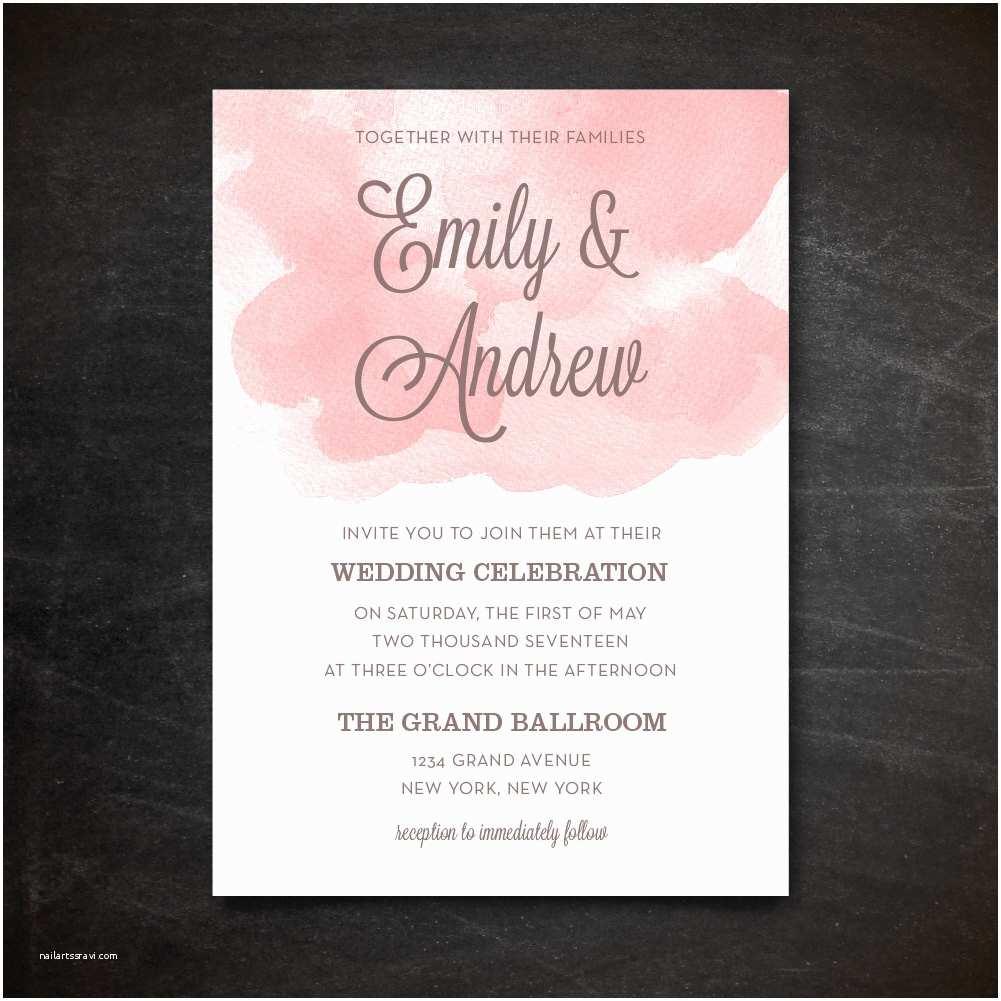 Etsy Wedding Invitations Wedding Invitation Template Etsy Luxury Wedding Invitation