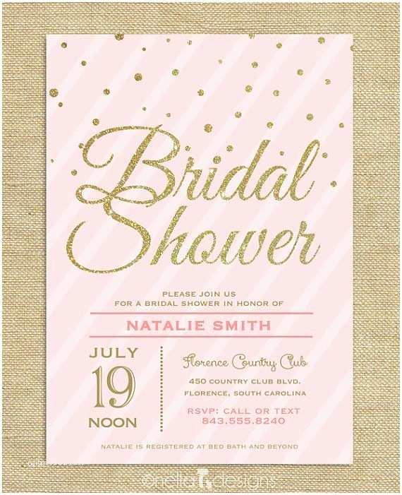 Etsy Wedding Shower Invitations Best Bridal Shower Invitation Etsy