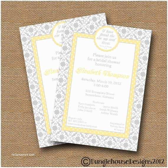 Etsy Wedding Shower Invitations Bridal Shower Invitations Etsy